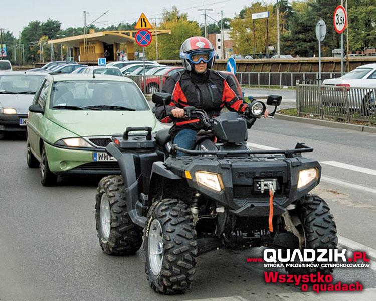 quad 125 bez prawa jazdy