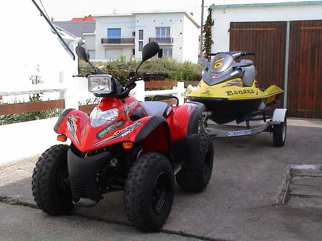 quad 125 cobra