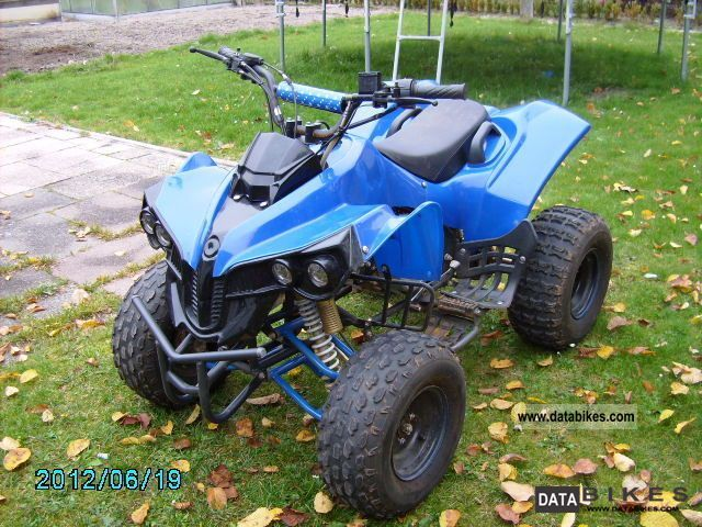 quad 125 kymco
