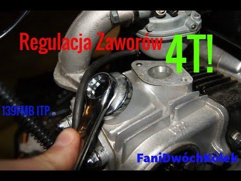 quad 125 regulacja zaworow