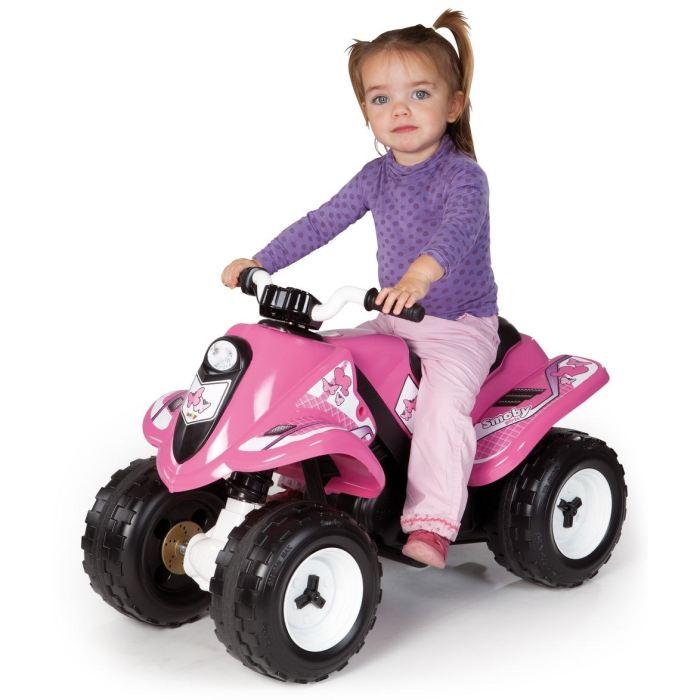 quad electrique fille 5 ans