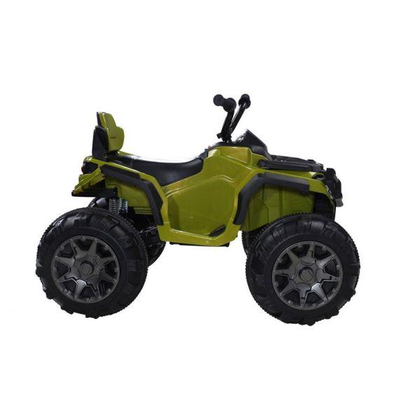 quad electrique vert