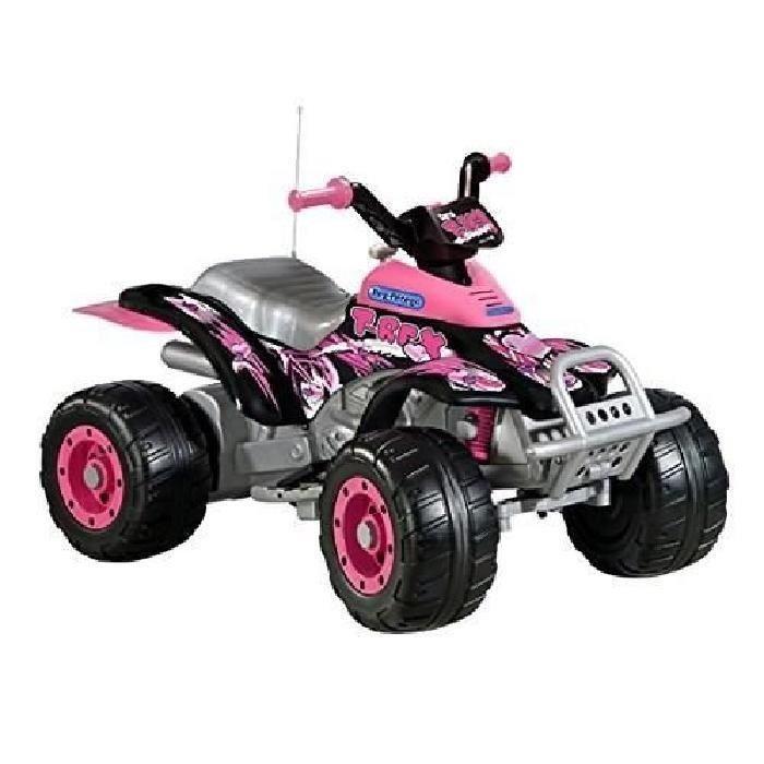 quad electrique x power rose