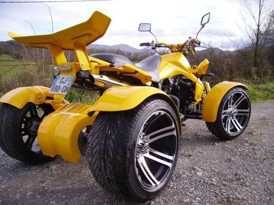 quad homologue route sans permis