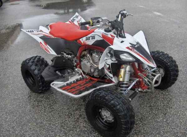 quad raptor 250 tunisie