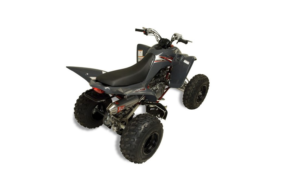 quad raptor 350 2 places
