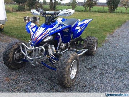 quad raptor 450 occasion belgique