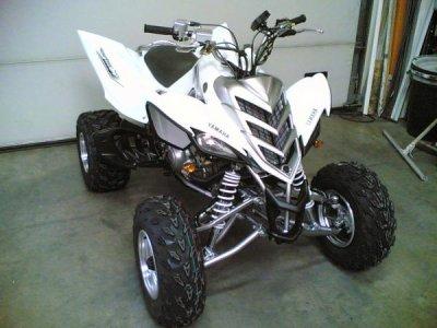 quad raptor 450