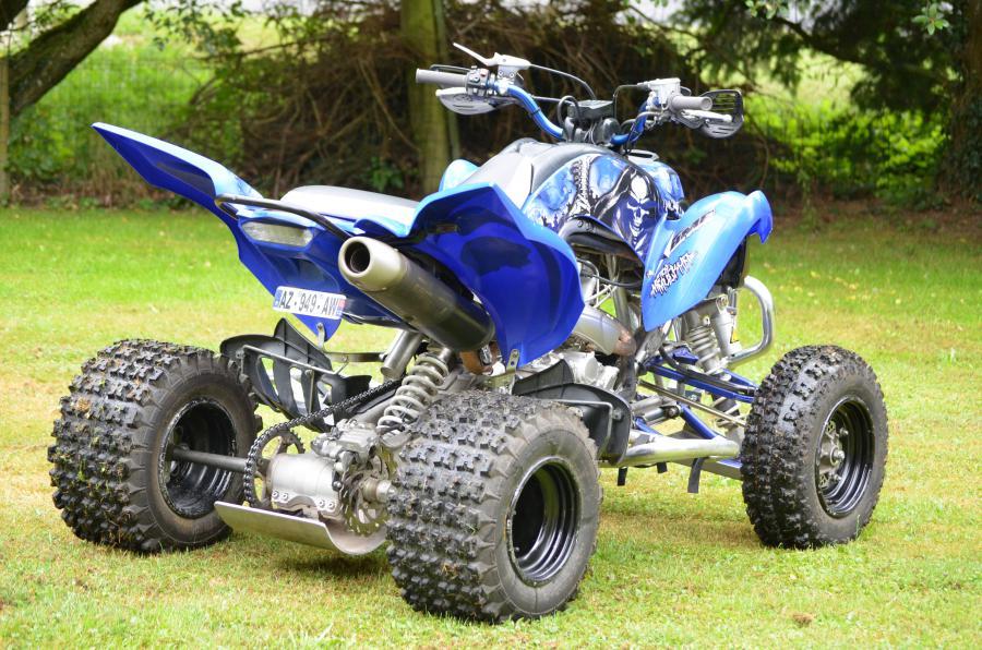 quad raptor 750 homologue