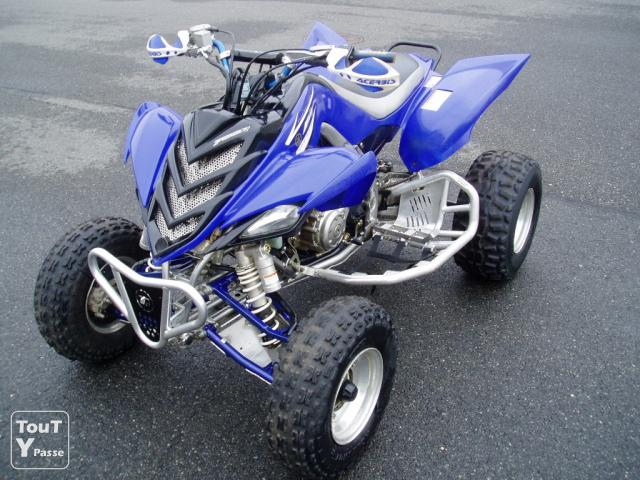 quad raptor 750 homologue
