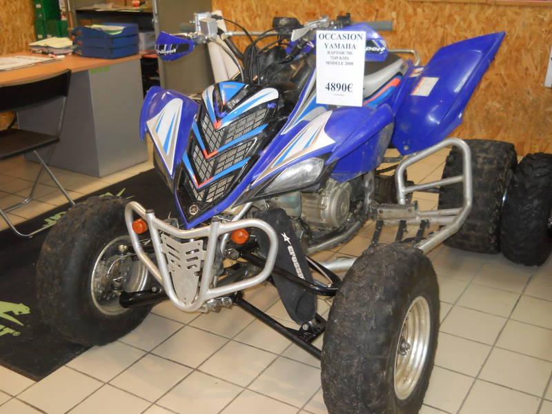 quad raptor a vendre belgique