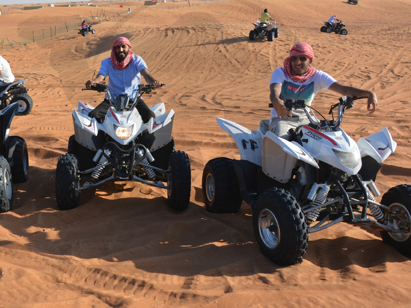 quad raptor dubai