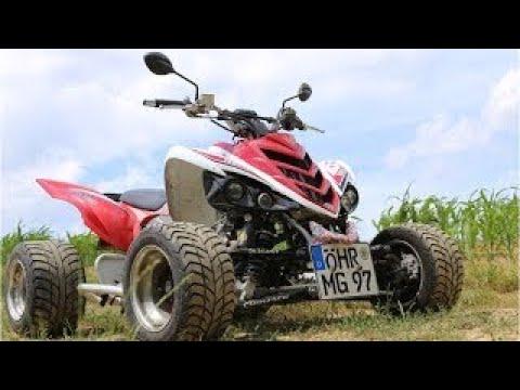 quad raptor speed