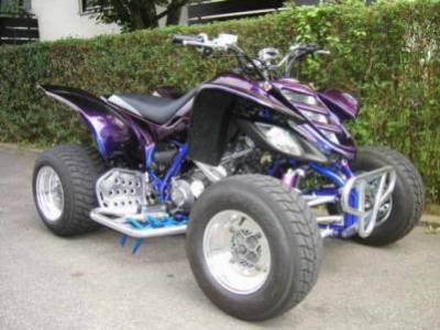 quad raptor tuning