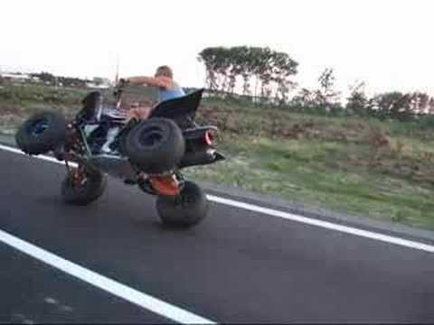 quad raptor wheeling